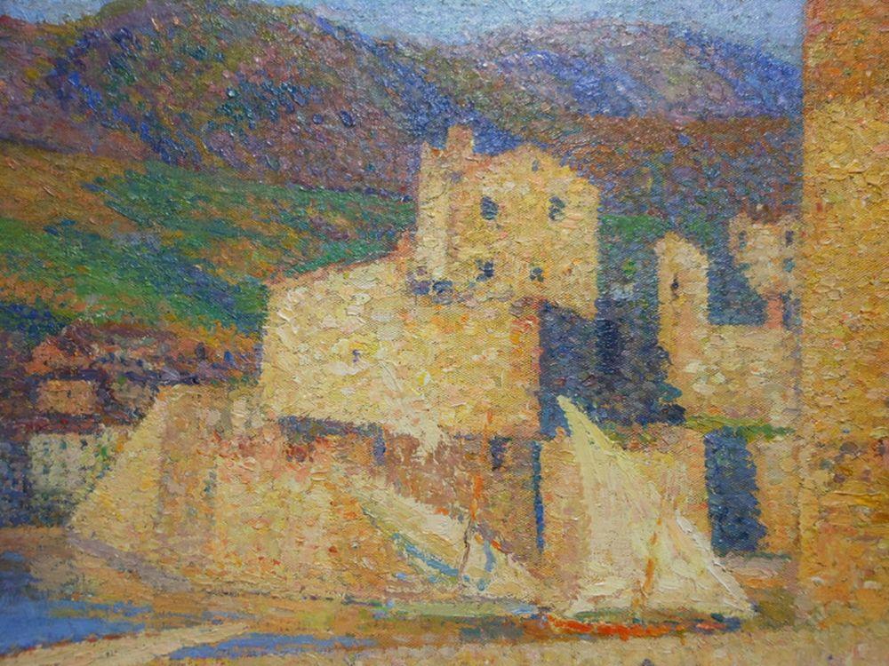 Henri-Jean Guillaume Martin (French, 1860-1943)      La Tour de Collioure