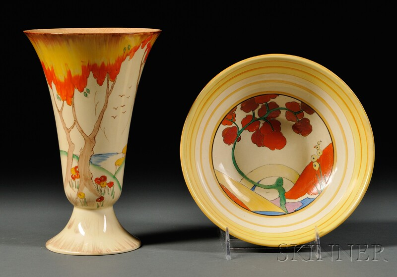 Two Clarice Cliff Items
