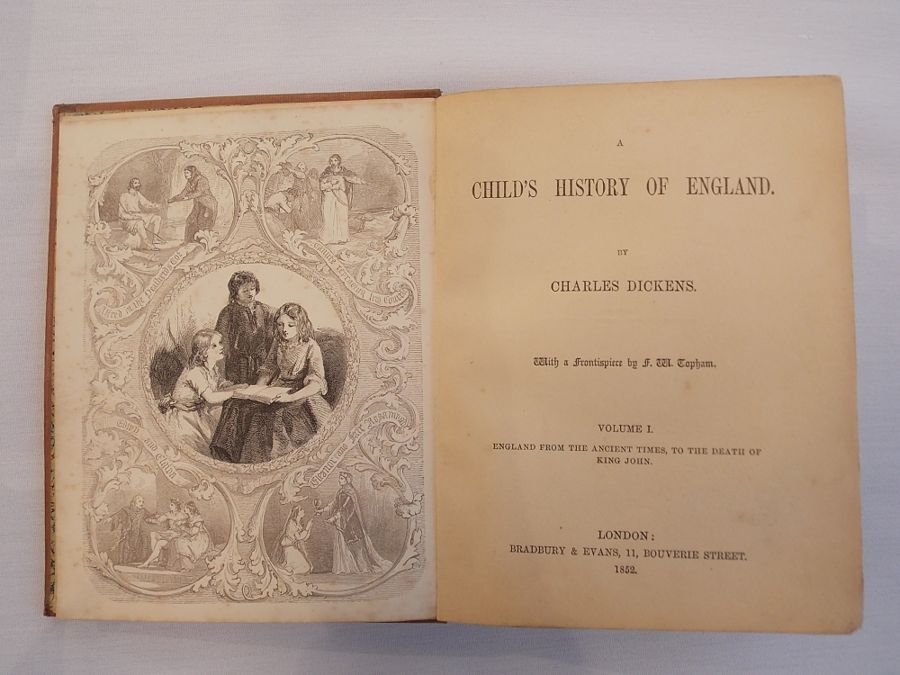 Dickens, Charles (1812-1870) A Child's History of England.