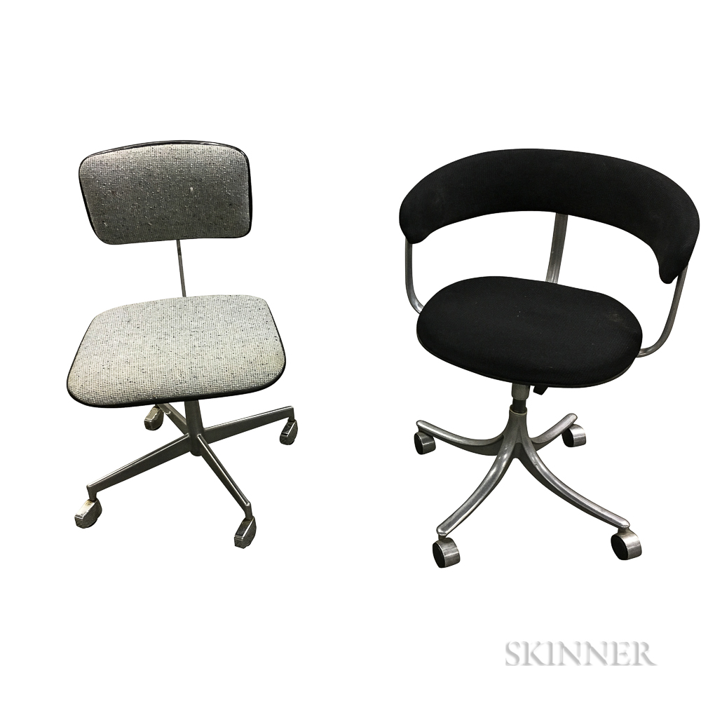 Two Danish Modern Task Chairs