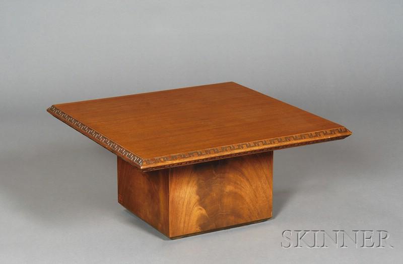 Frank Lloyd Wright Low Table