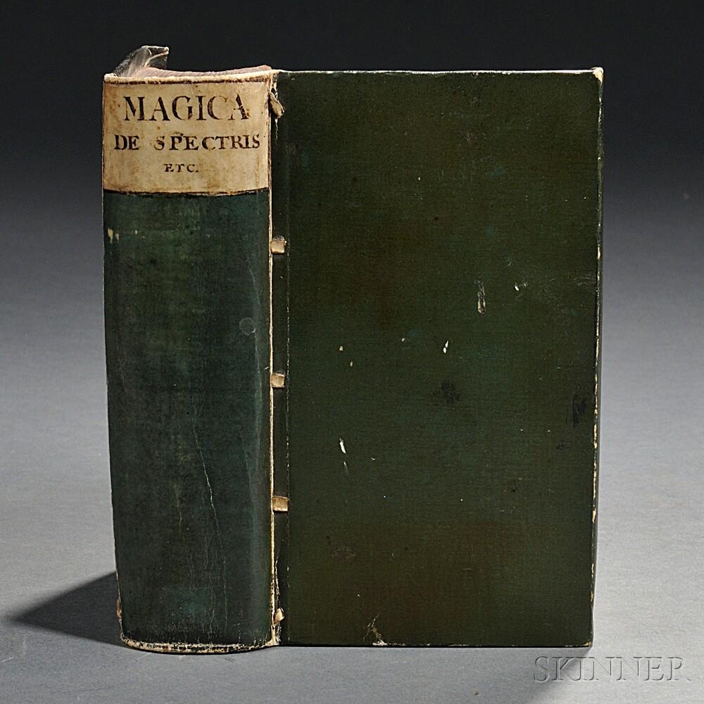 Grosse, Henning, ed. (1553-1621) Magica de Spectris et Apparitionibus Spiritu[m] de Vaticiniis Divinationibus &c.