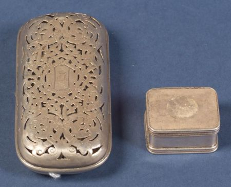 Russian Silver Boxes