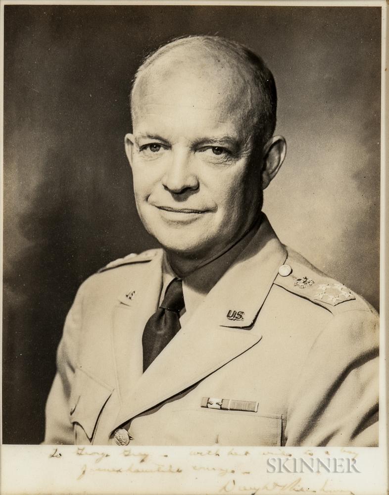 Eisenhower, Dwight D. (1890-1969) Signed Photograph.