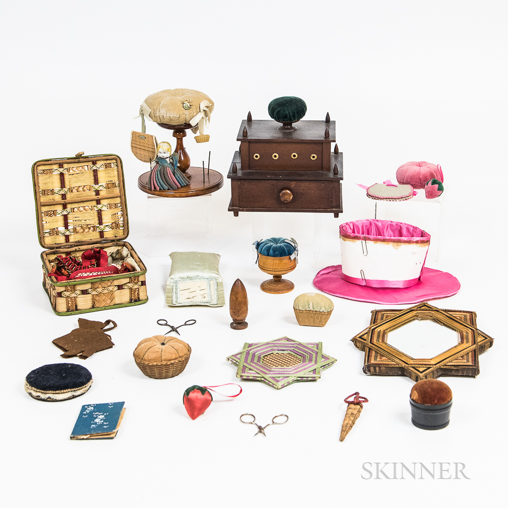 Group of Sewing-related Items