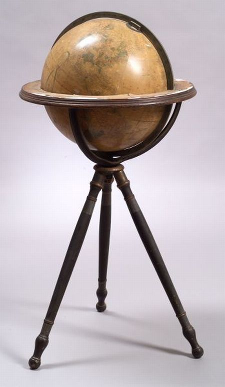 Improved 16-inch Terrestrial Floor Globe by Gilman Joslin