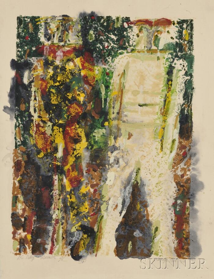 Donald C. Kelley (American, b. 1928)      Two Figures