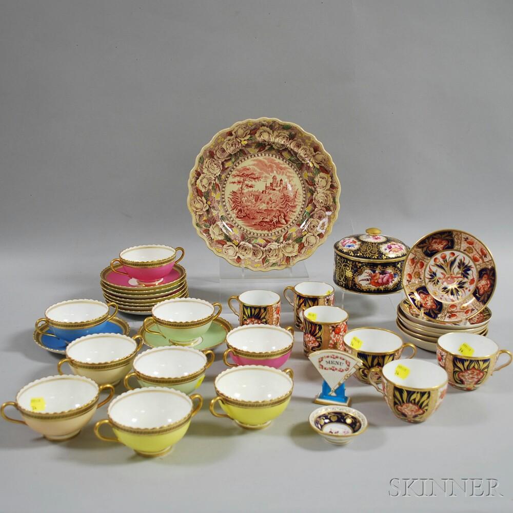 Thirty-four English Ceramic Items