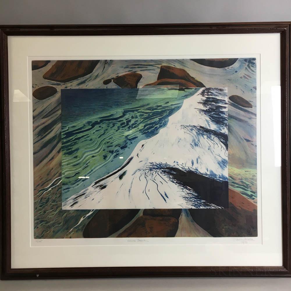 Framed Maria Henle Print Nevis Bead
