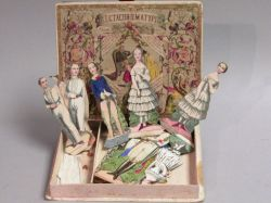 Metachromatypie German Box with Paper Dolls