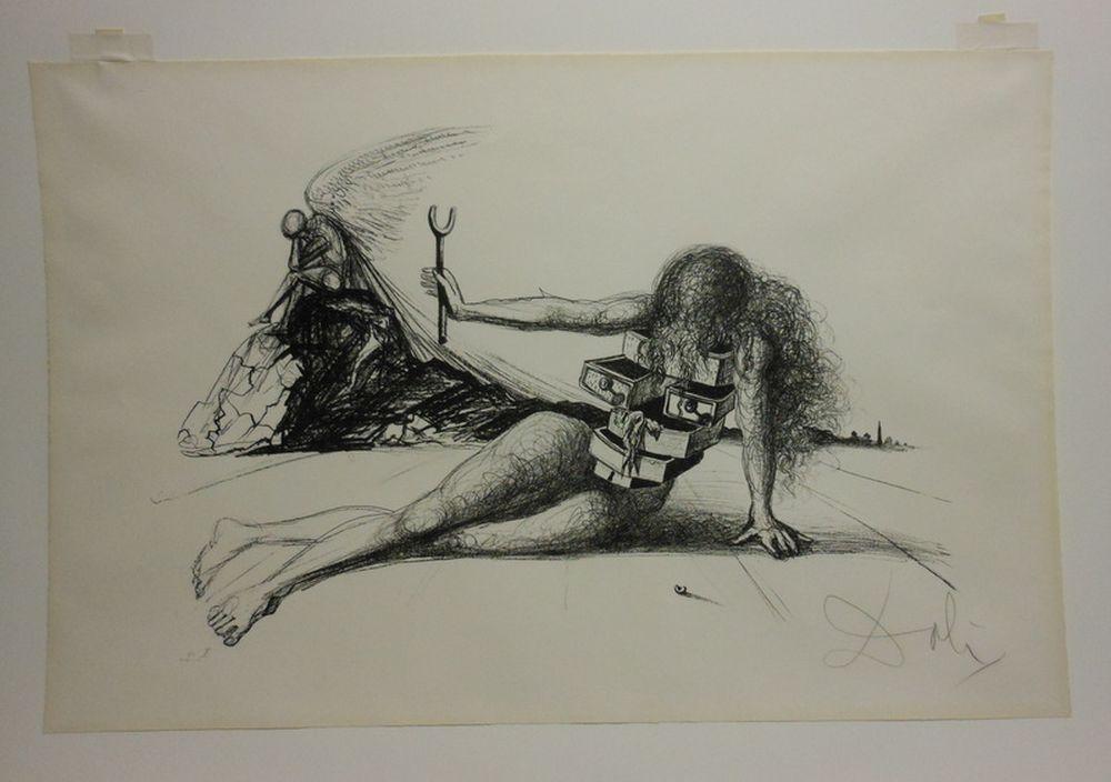 Salvador Dali Spanish   Drawers Of Memory