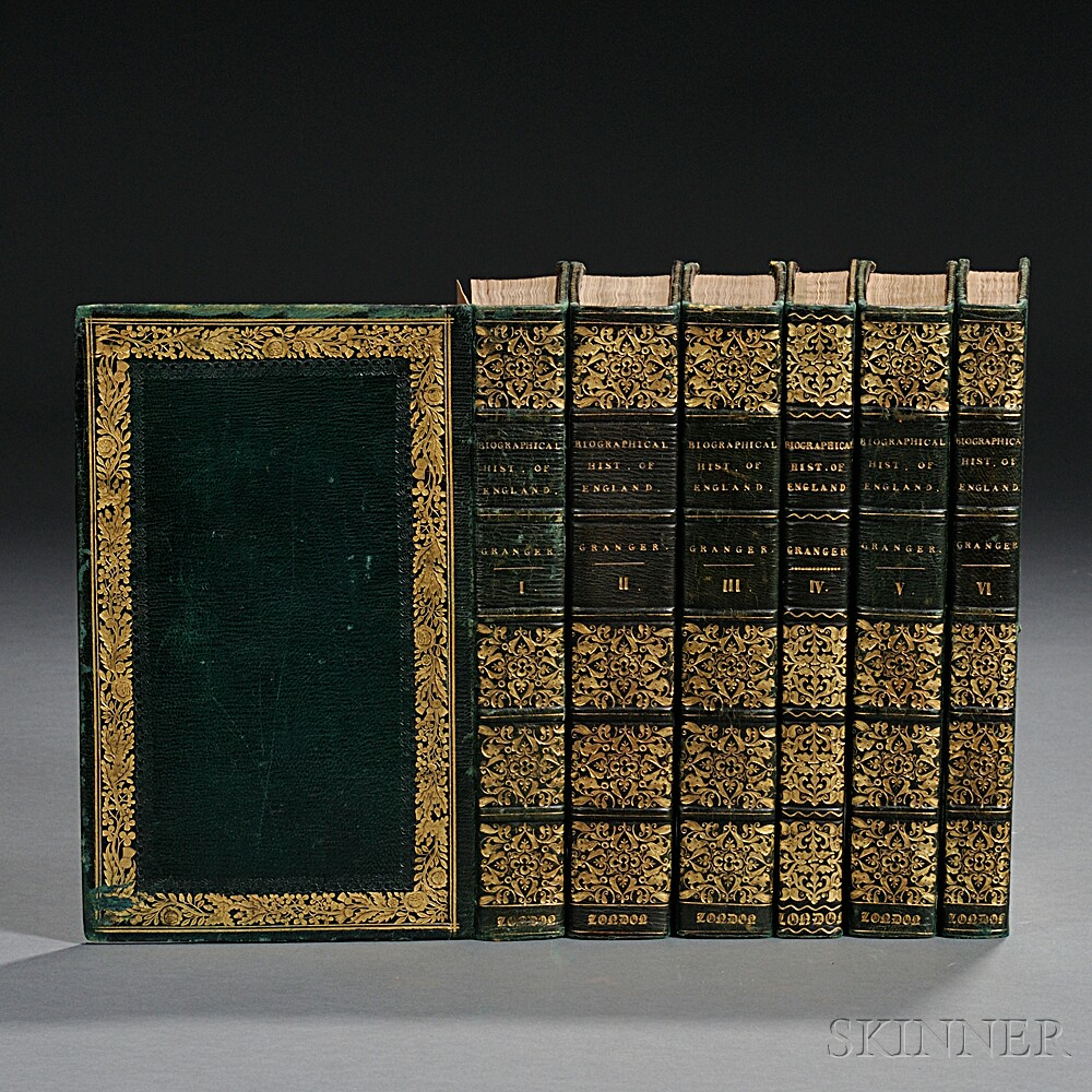 Granger, James (1723-1776) A Biographical History of England ,  Extra-illustrated.