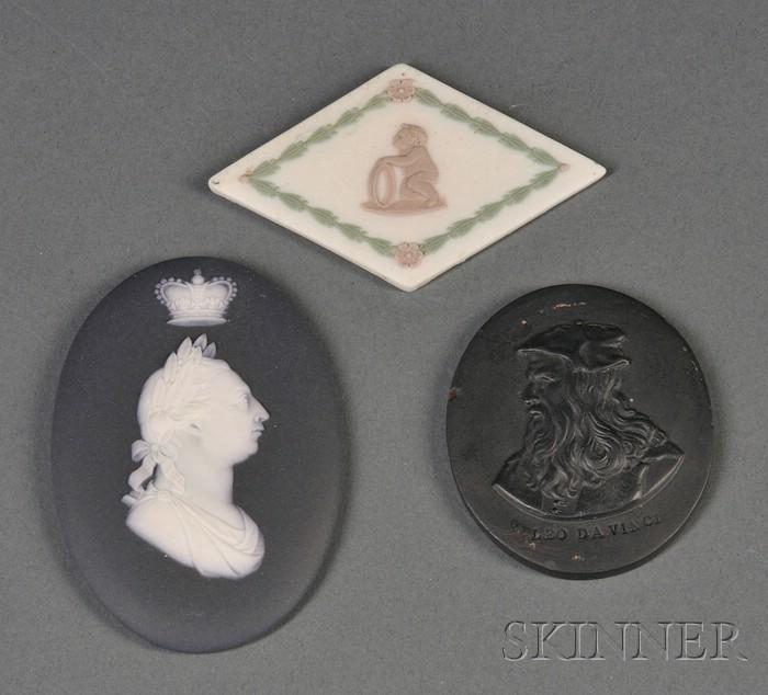 Three Assorted Wedgwood Medallions