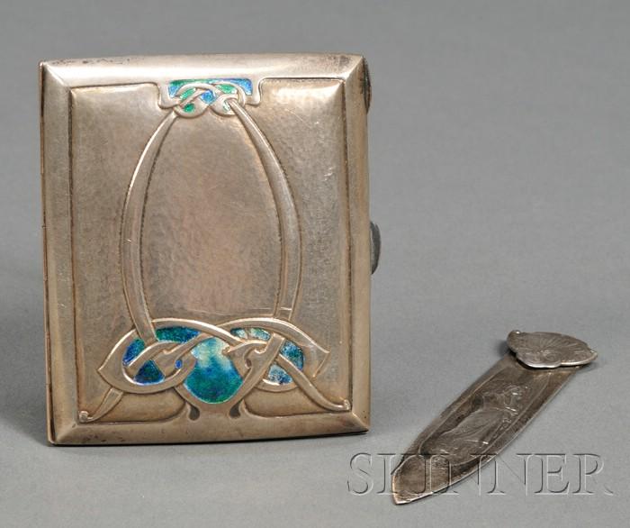 Art Nouveau Liberty & Co. Case and Bookmark