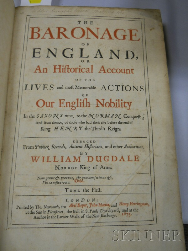 Dugdale, Sir William (1605-1686)