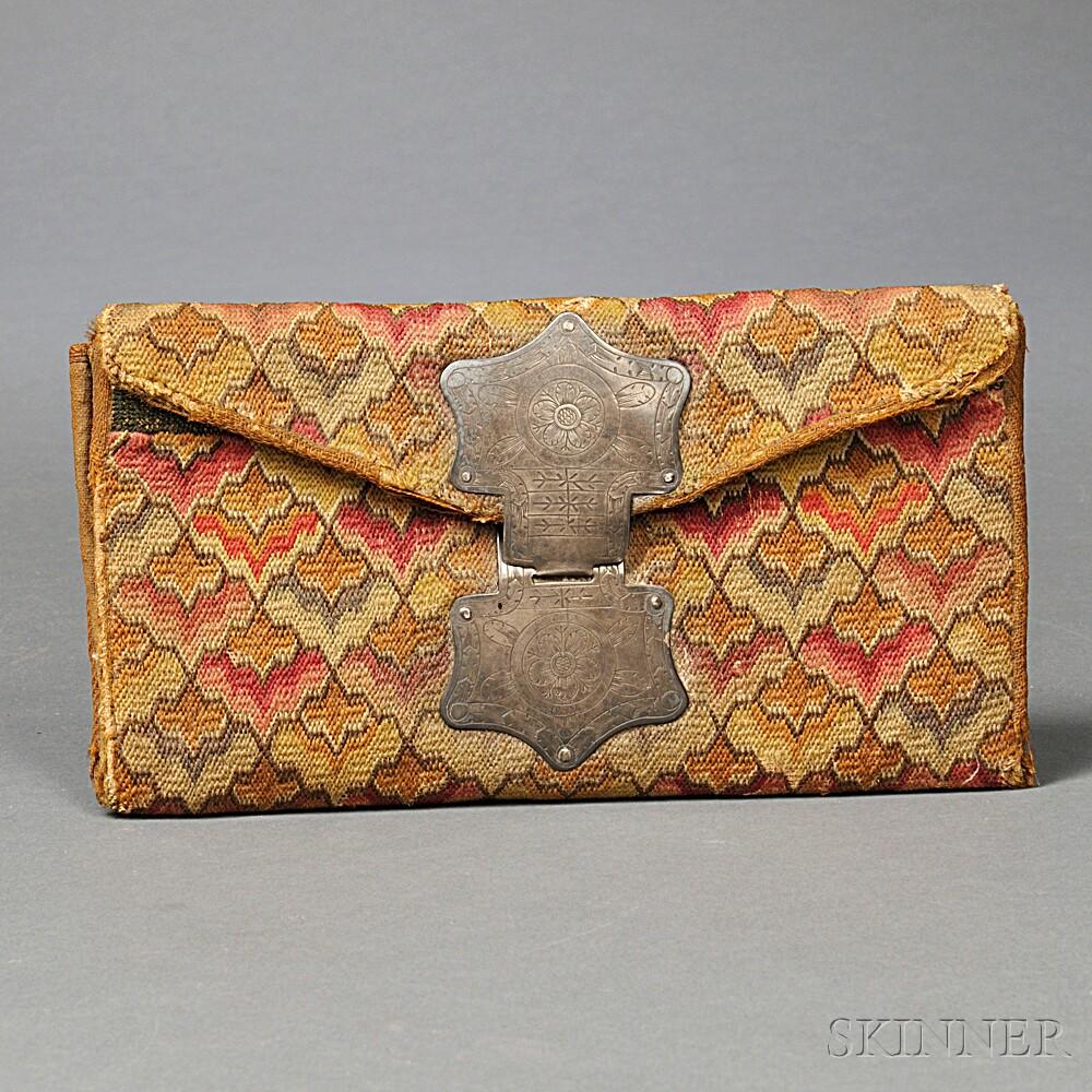 John Stevens Jr. Woolen Needlework Pocketbook