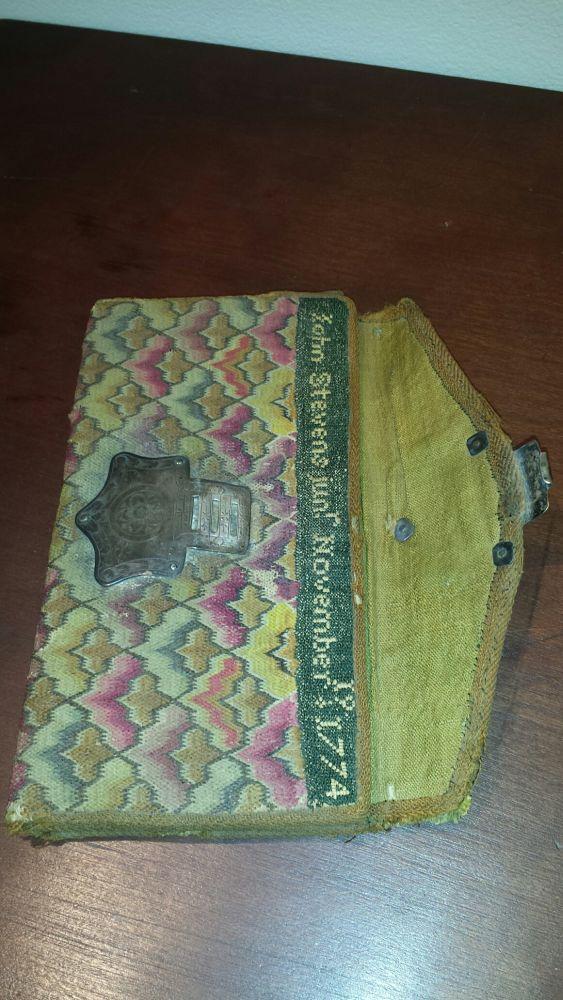 John Stevens Jr Woolen Needlework Pocketbook Sale