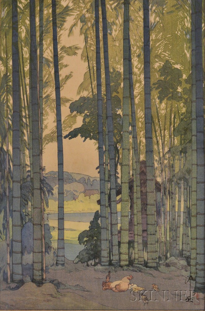 Hiroshi Yoshida, Bamboo Wood