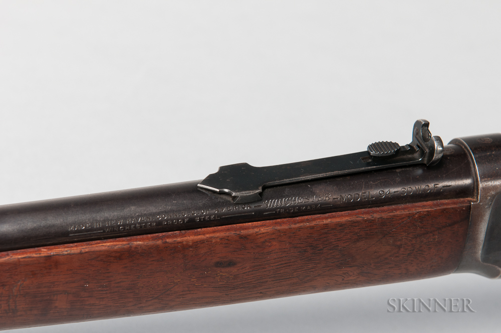 Winchester Model 1894 Rifle Identified to Texas Ranger Captain Frank Probst