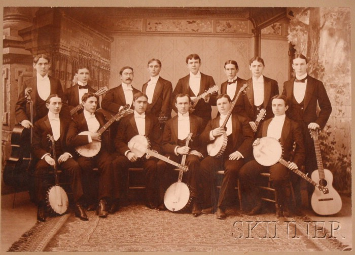 The Williams College String Society, 1897