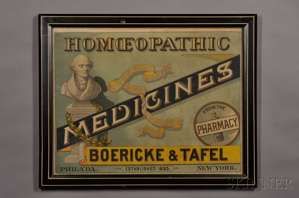 Boericke & Tafel Pharmaceutical Lithograph