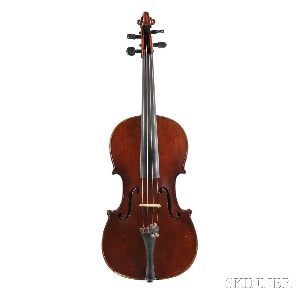 American Violin, William Urff, Philadelphia