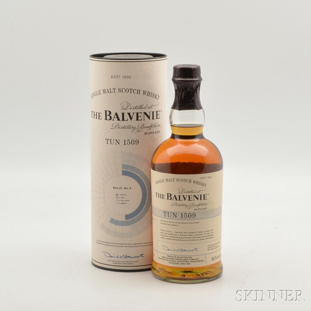 Balvenie Tun 1509 Batch #2, 1 750ml bottle (ot)