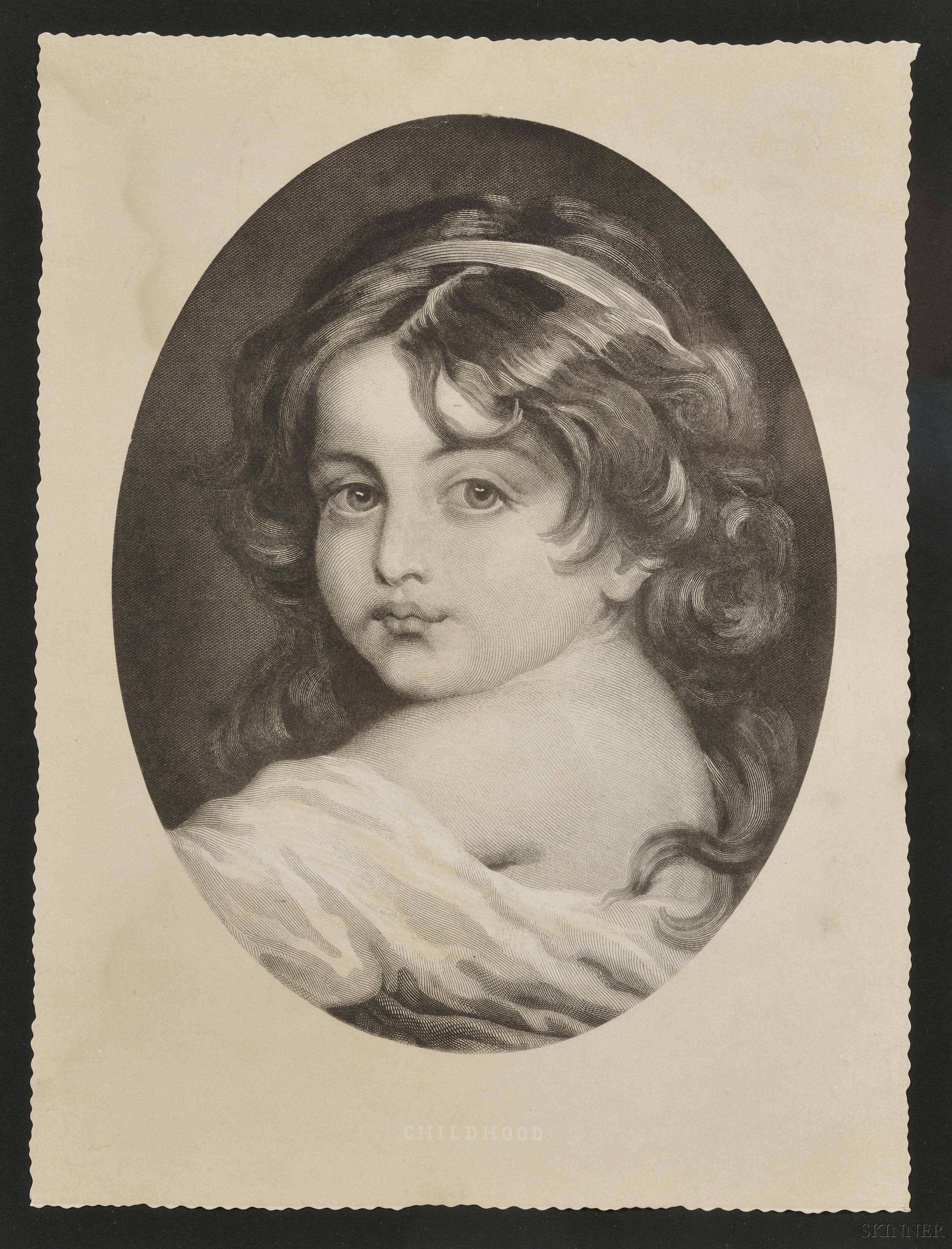 Lot of Three Framed Engravings:        Heinrich Guttenberg (German, 1749-1818), After Pierre Antoine Baudouin