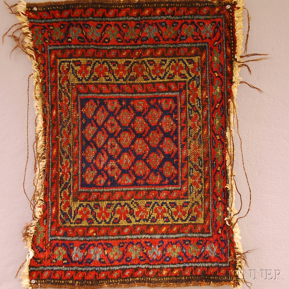 Two Oriental Rug Items