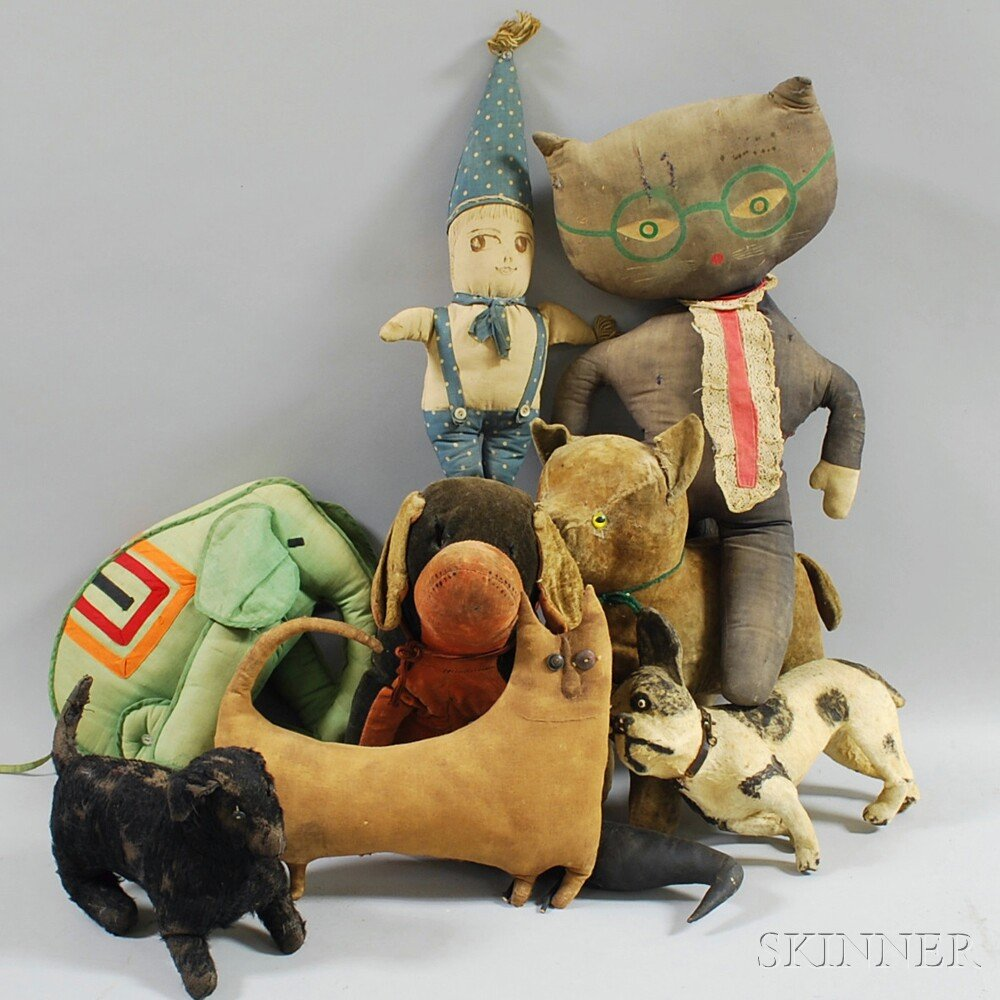 Antique Stuffed Animals And Toys
