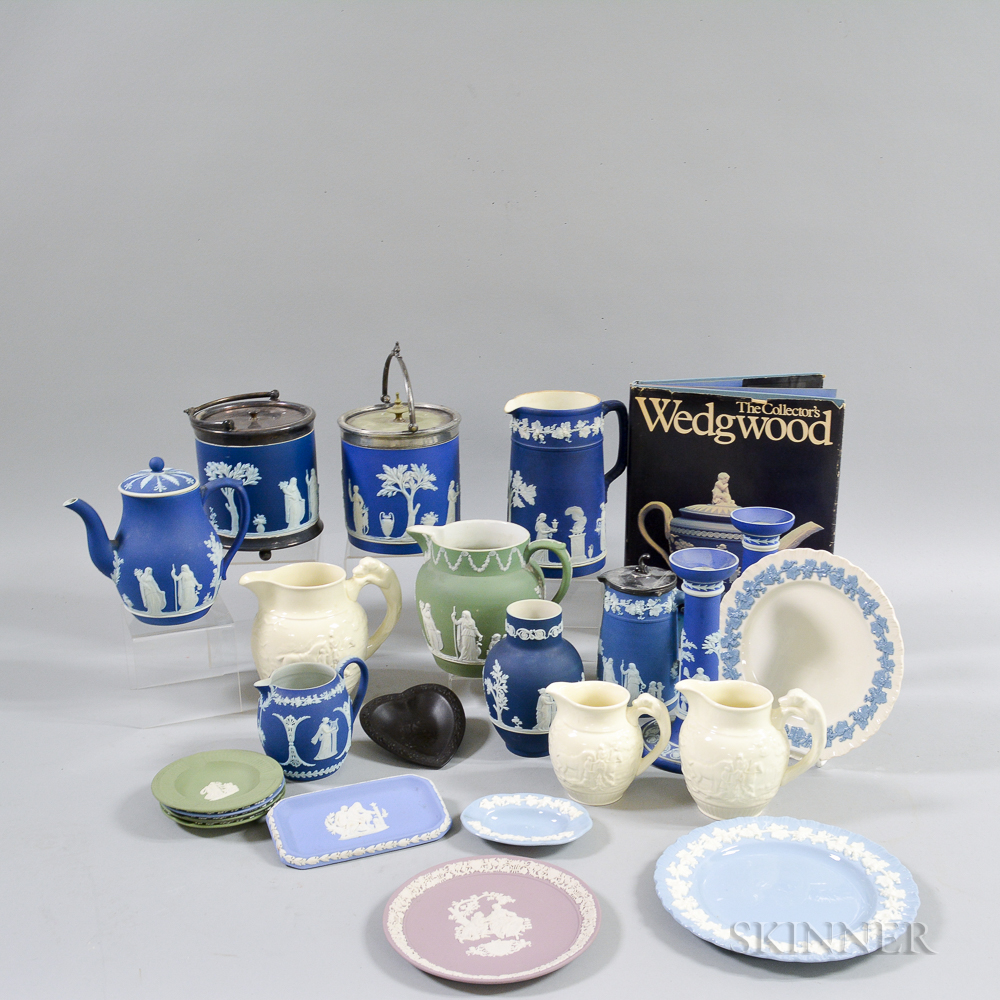 Twenty-three Pieces of Wedgwood