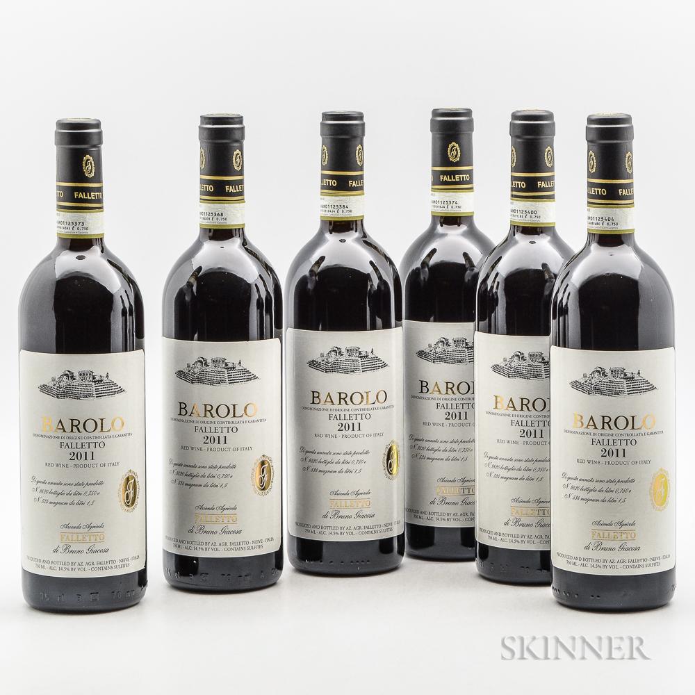 Bruno Giacosa Barolo Falletto di Serralunga dAlba 2011, 6 bottles