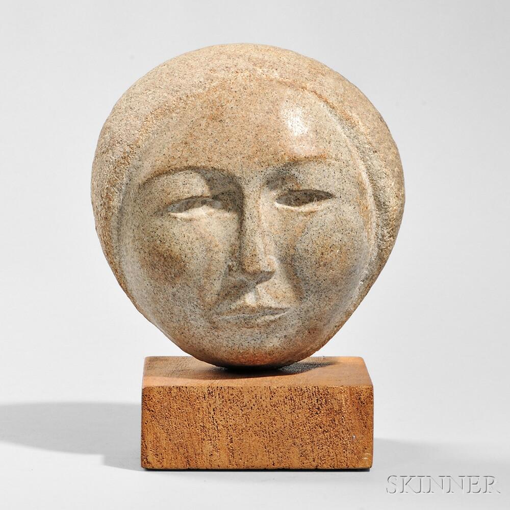William Zorach (American, 1887-1966)      Head