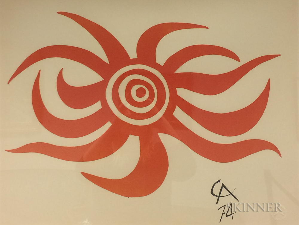 Alexander Calder (American, 1898-1976)      Sunburst