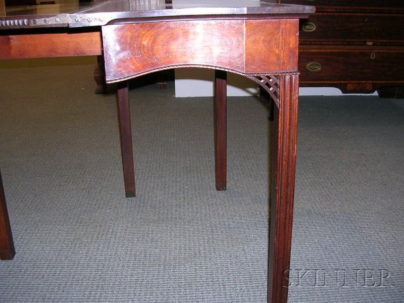 Chippendale Carved Mahogany Gaming Table