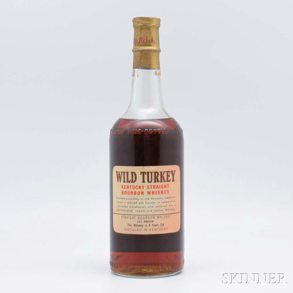 Wild Turkey 8 Years Old, 1 4/5 quart bottle