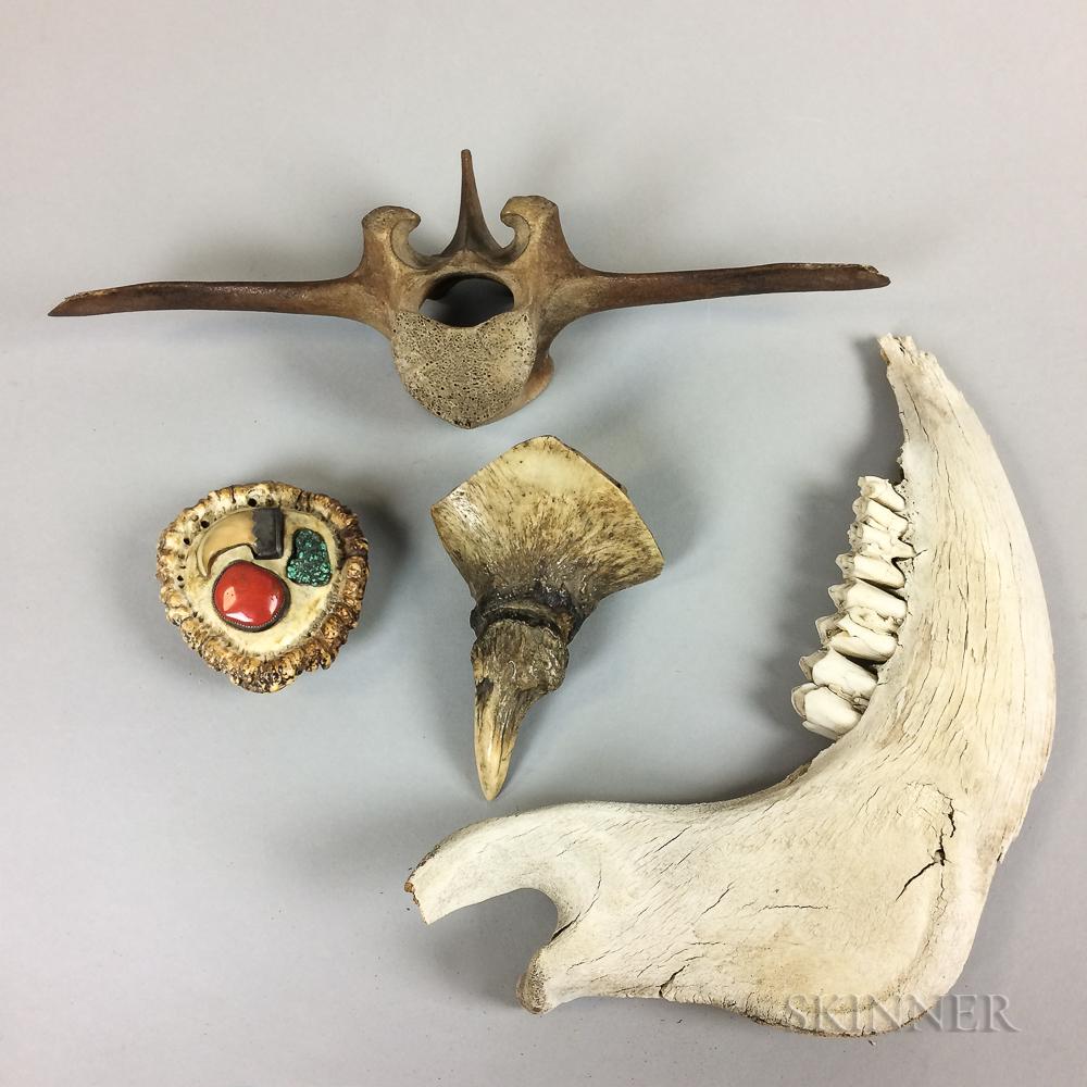 Four Animal Bones