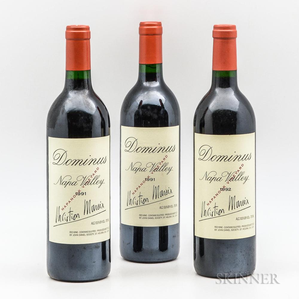 Dominus Estate, 3 bottles