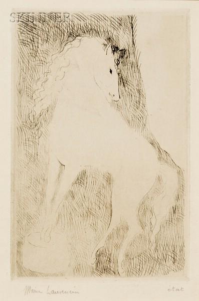 Marie Laurencin (French, 1883-1956)      L'Ecuyère