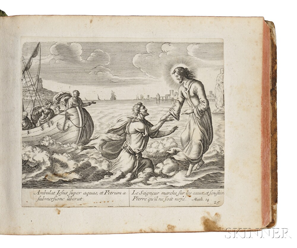 Bible Illustrations, French Engravings, Old and New Testaments.