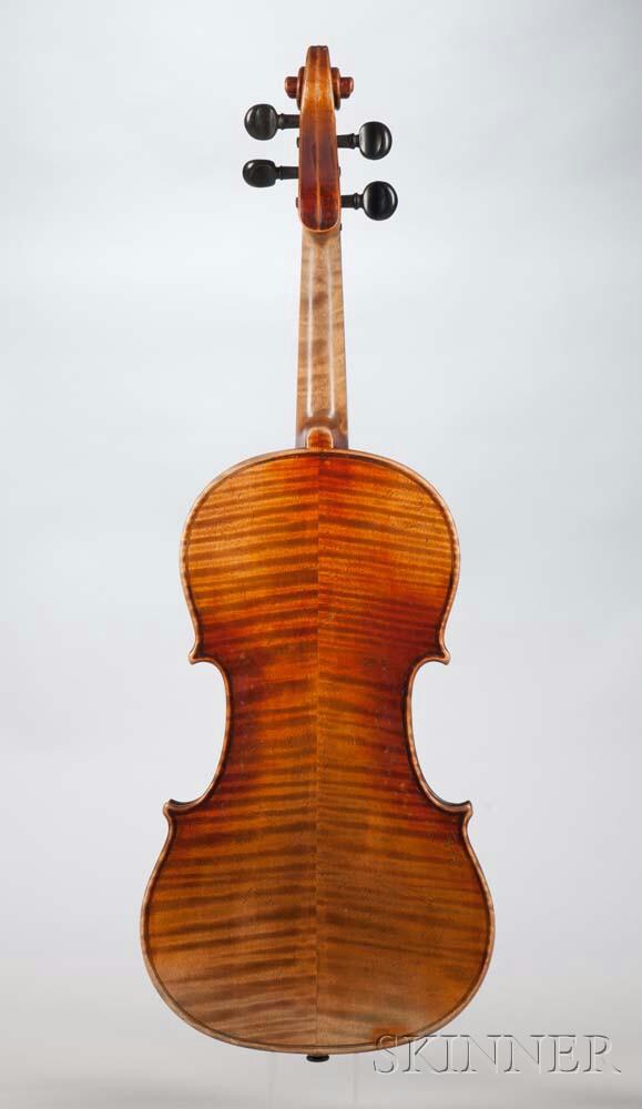 german violin sale number 3007b lot number 146 skinner auctioneers. Black Bedroom Furniture Sets. Home Design Ideas