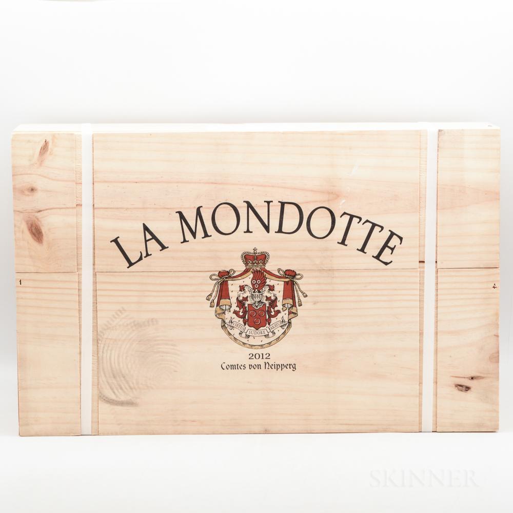 Chateau La Mondotte 2012, 6 bottles (owc)