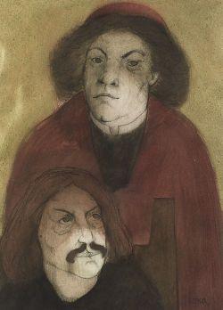 Antonio Rodney Luna (Mexican, b. 1910)  Figures