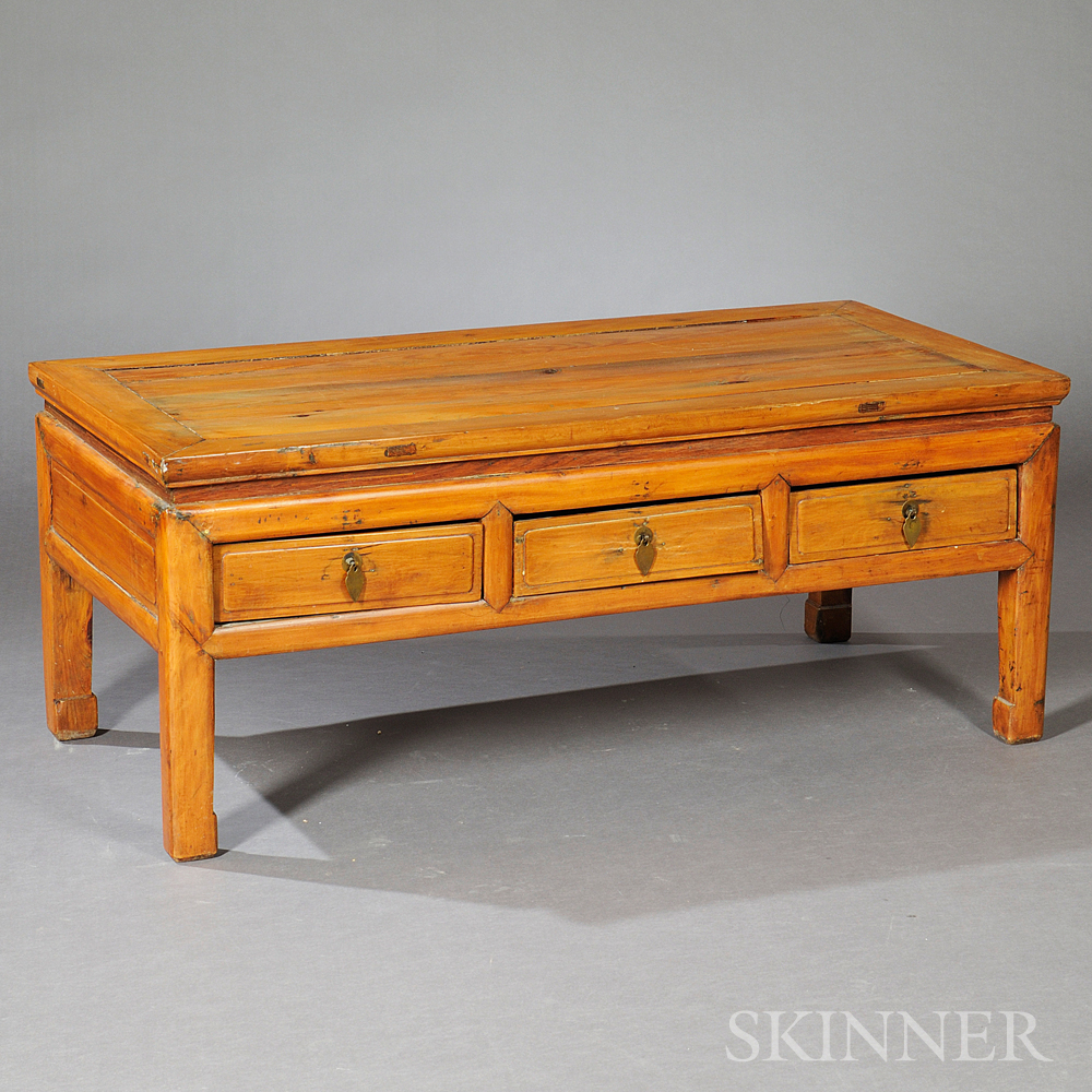 Rectangular Low Table