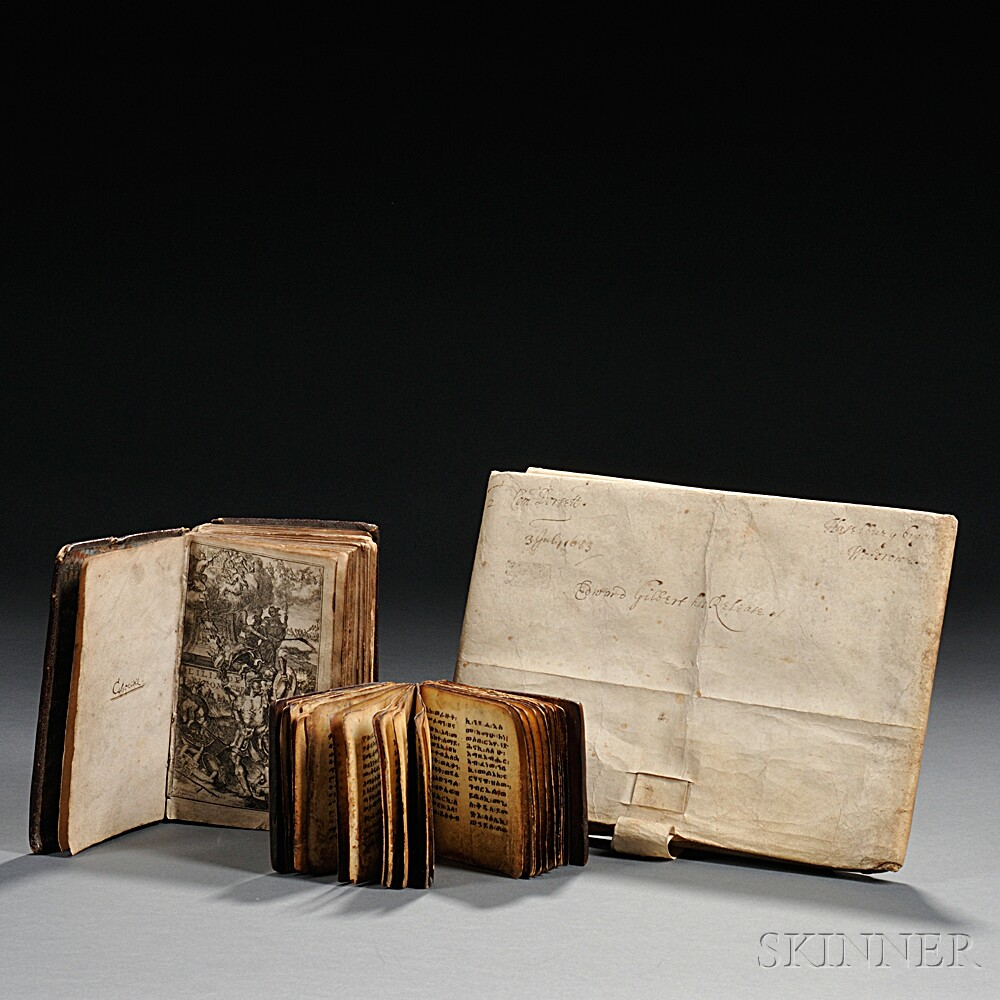 Rare Book and Document Lot.