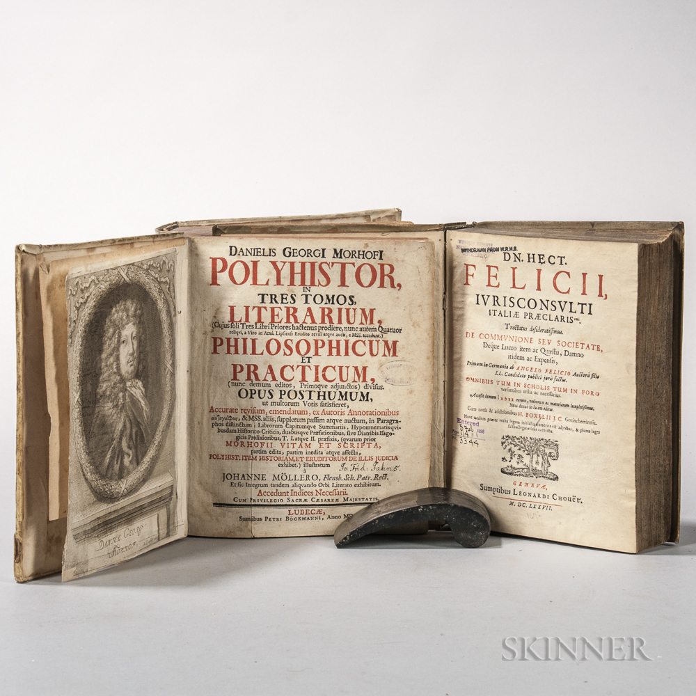 Felicius, Ettore [or Hector] (fl. 17th Century) Iurisconsulti Italiae Praeclarissimi Tractatus Desideratissimus de Communione seu Socie