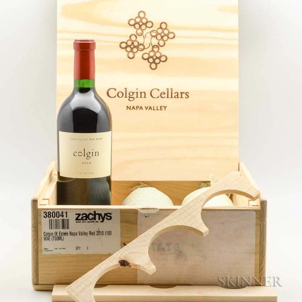 Colgin IX Estate 2010, 3 bottles (owc)