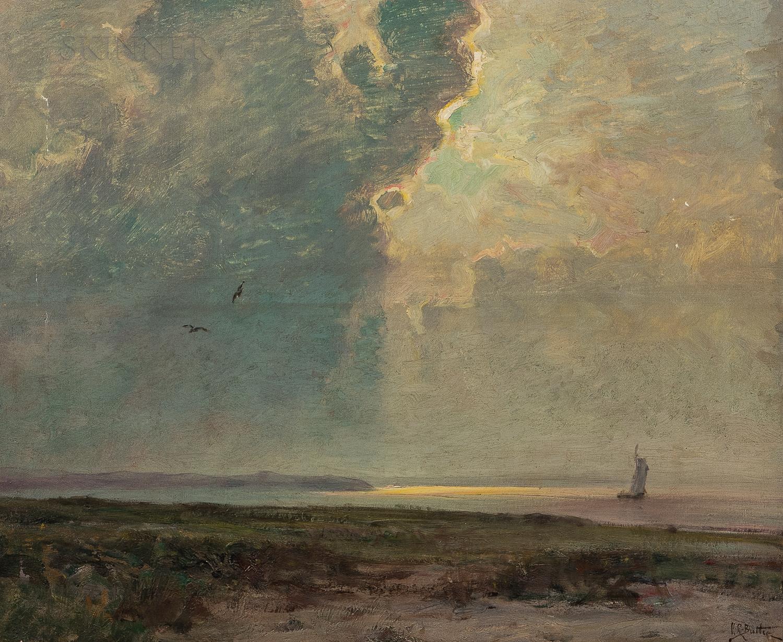 Howard Russell Butler (American, 1856-1934)      Illuminated Thunder Head, Georgian Lake