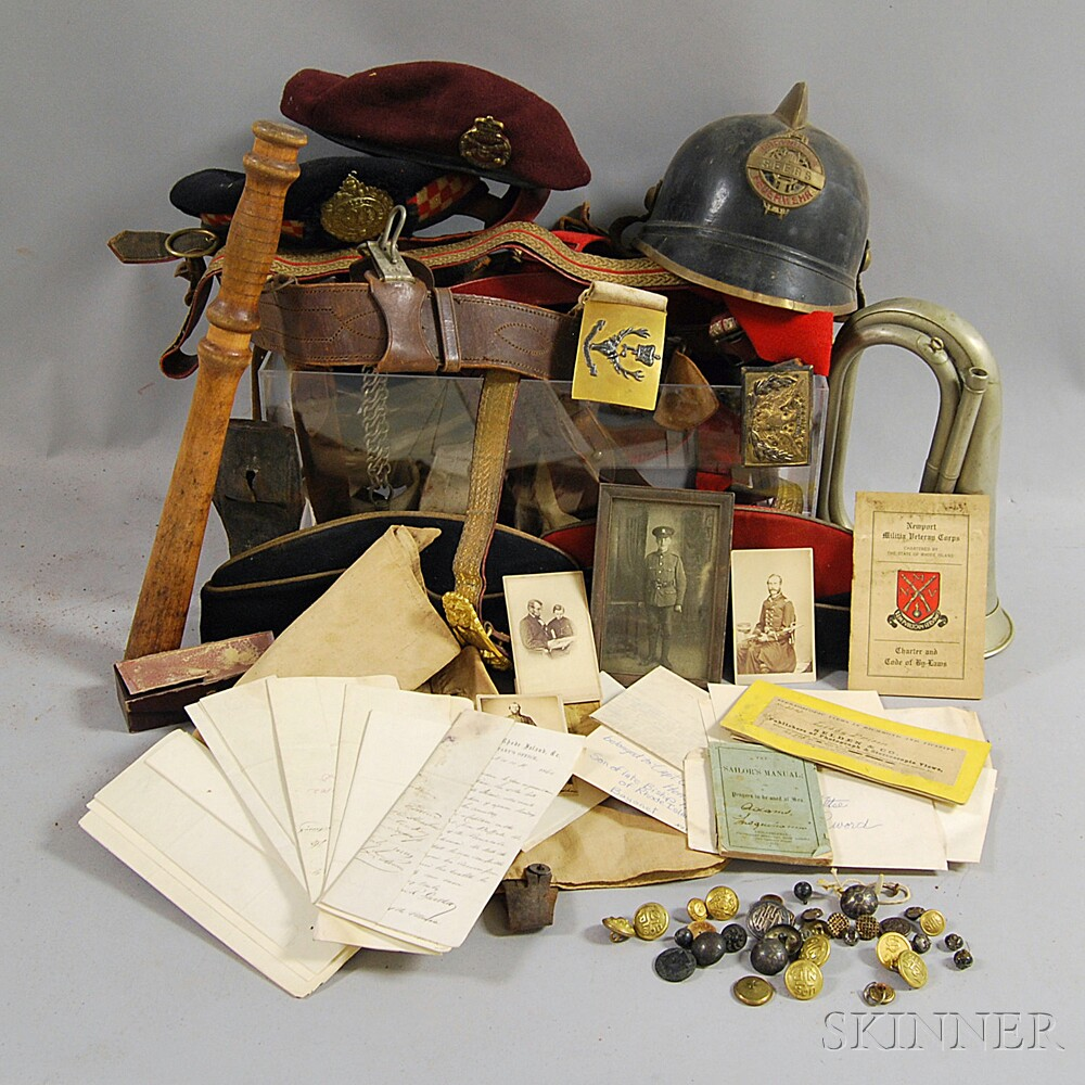 Group of Military Accessories