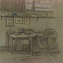 John Ramsey Conner (American, 1869-1952)  The Studio